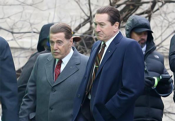 Защо Робърт Де Ниро се разкарва с токчета с Ал Пачино?!