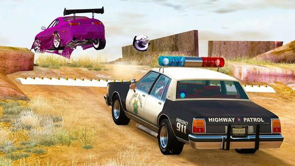Какво се случва, ако автомобил мине през полицейски шипове със скорост от 240 км\ч?