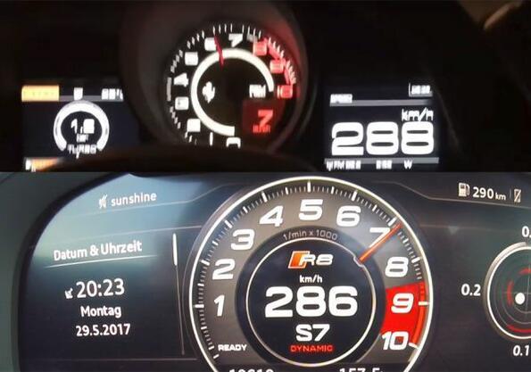 На твоето внимание: Audi R8 срещу Ferrari 488 GTB