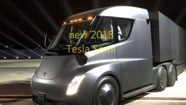 Камионът Tesla Semi вече е забелязан по улиците! Виж го и ти! Видео!