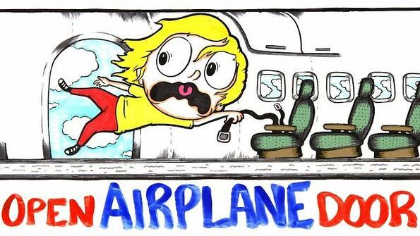 Какво се случва, ако в самолета се отвори врата по време на полет?