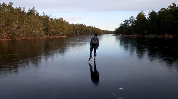 Как звучи супер тънък лед! (Видео за слушалки)!