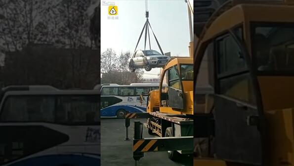 Ето какво ще ти се случи, ако паркираш неправилно в Китай!