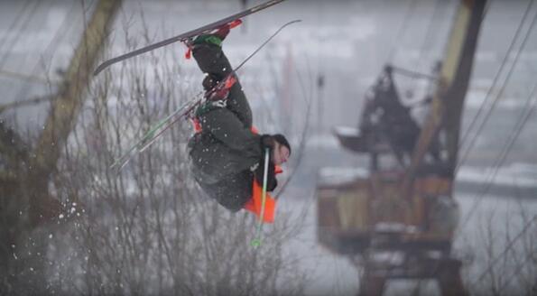 Много красив филм за руските екстремни скиори!