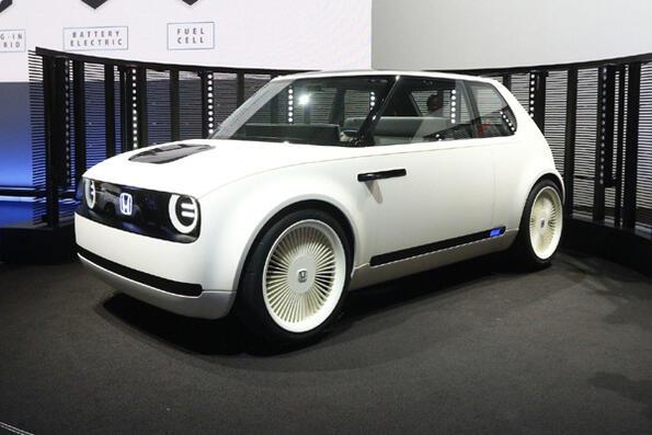 Виж малката електрическа Honda Urban!