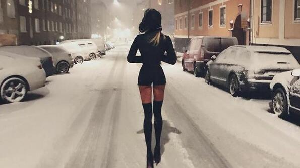 Запознай се с шведския модел с най-дълги крака!