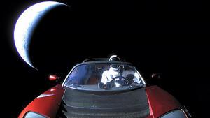 Как може да откриете Tesla Roadstar в космоса?