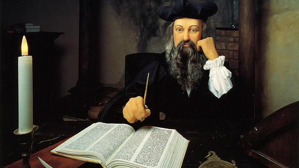 Нострадамус освен пророчества правил и конфитюр