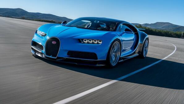 Виж най-новото Bugatti Chiron!