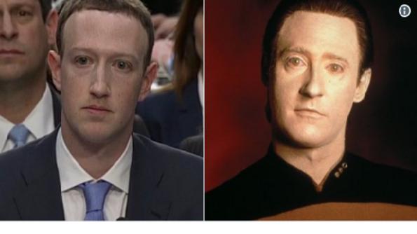 Най-доброто  от Марк Зукерберг, когато се появи пред Конгреса, бяха меметата