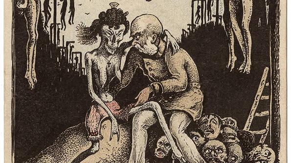 Брутални карикатури от Първата световна война!