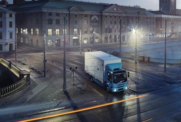 И Volvo вече си имат камион на ток!