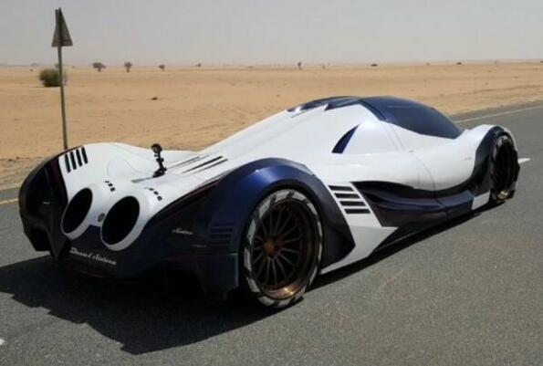 Гледай как ускорява една кола с 5007 к.с!