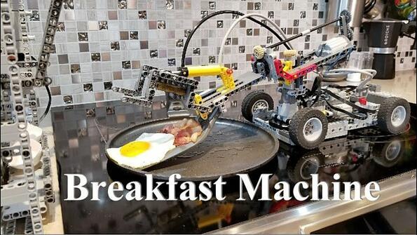 От LEGO направиха робот за пържене на яйца!
