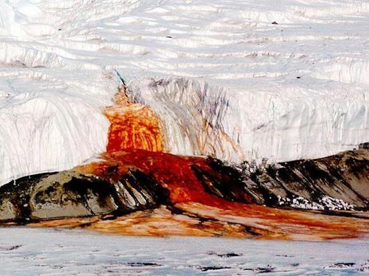 Антарктида кърви!