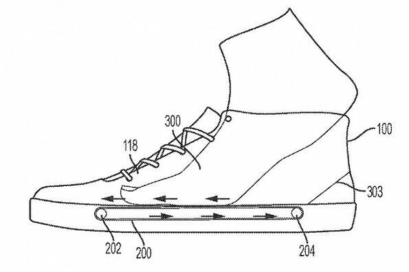 Nike пaтентова обувки с бягаща пътечка в тях!
