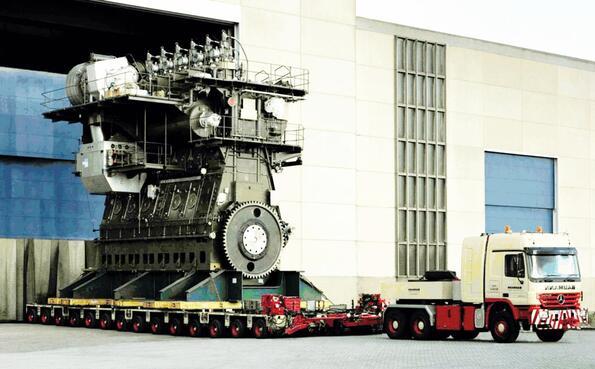 Wärtsilä RT-flex96C: най-мощният двигател на света