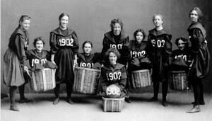 Редки снимки на жени от миналото