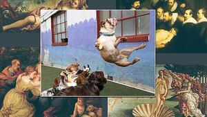 Много смешни снимки, които случайно приличат на платна от Ренесанса