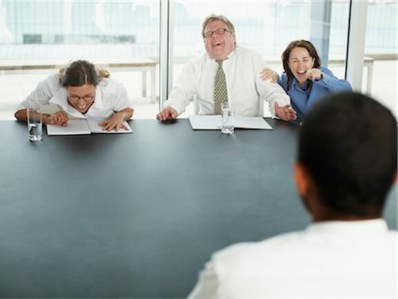 Не се разнасяйте по подобен начин на интервюта за работа