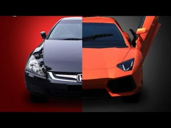 Да направиш от Honda – Lamborghini Aventador?!