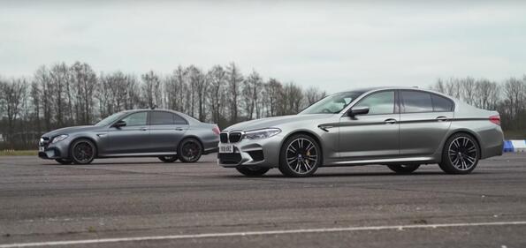 BMW M5 Vs Mercedes-AMG E 63 S: еднакви харектеристики – едно състезание!