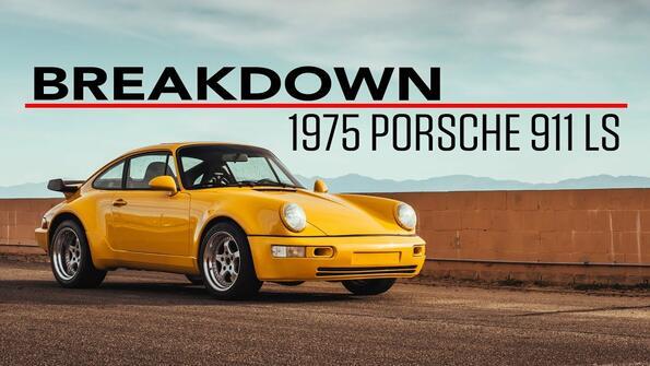 Дай на контакт: Porsche 911 с двигател от Corvette