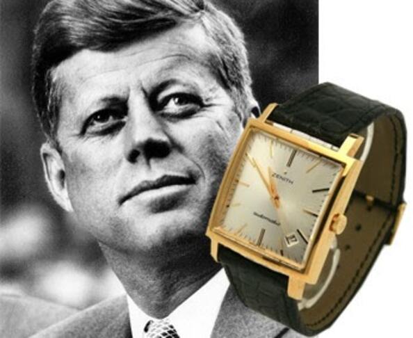 4 известни часовника, носени от 4 известни личности