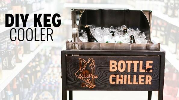 Как да си направиш хладилник за бира от стар кег!