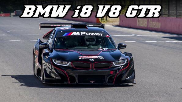 Чудовището BMW i8 получи състезателна версия!