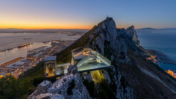 Skywalk: несравнима гледка от Гибралтарската скала