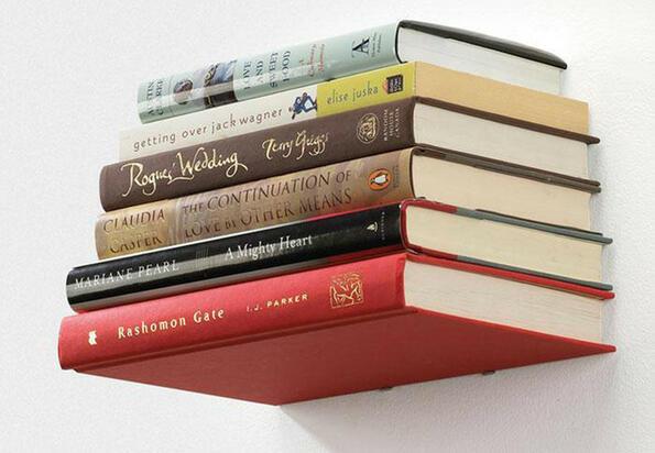 Направи си сам: невидим рафт за книги!