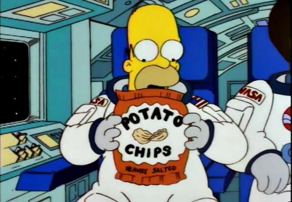 Ето колко точно въздух има в пакетите чипс!