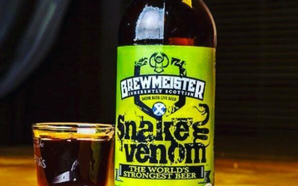 Най-алкохолната бира в света