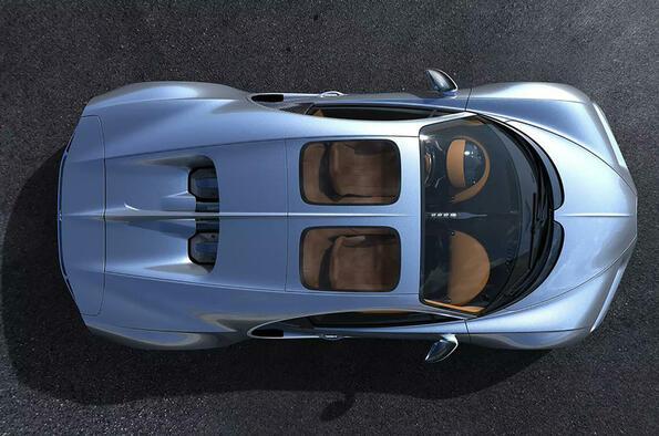 Стъклен покрив за Bugatti Chiron!