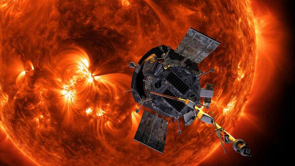 Нов космически кораб се е отправил към Слънцето