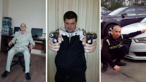 Поредна доза странни мъже от руските социални мрежи...