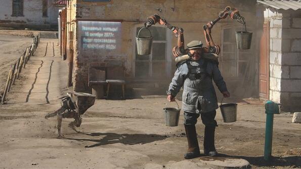 Русия през 2077 година!