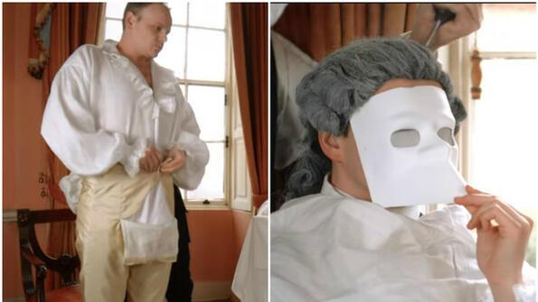 Колко време щеше да ти се наложи да се обличаш, ако живееше в XVIII век!