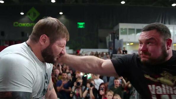 Хвърлете око на руския турнир по плесници