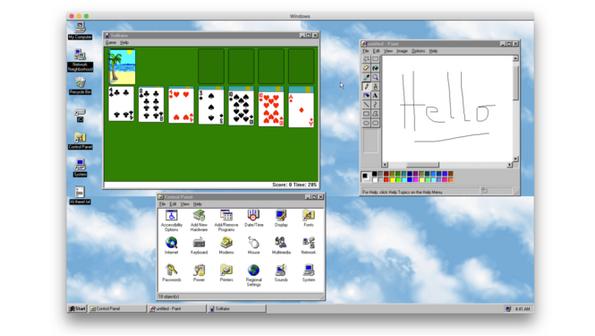 Качи си Windows 95 на Windows 10!