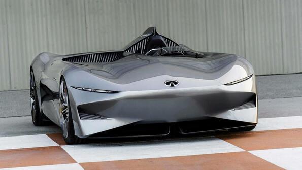 Infiniti  Prototype 10: бъдещето на електрическите автомобили!