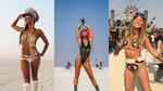 Най-красивите мацки от фестивала Burning Man 2018