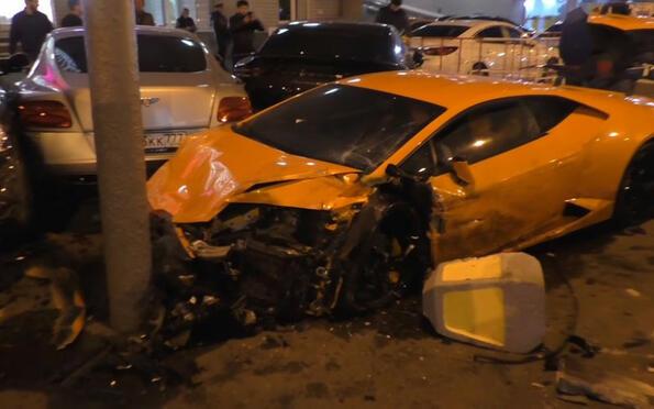 Най-тъжното видео днес: катастрофа с коли за 1,3 милиона евро