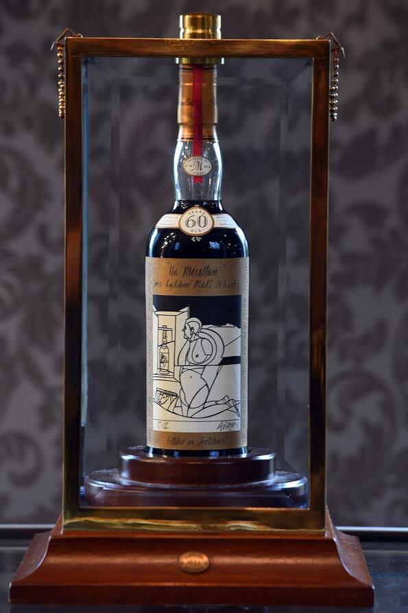 Най-скъпото уиски на планетата: Macallan Valerio Adami 1926!