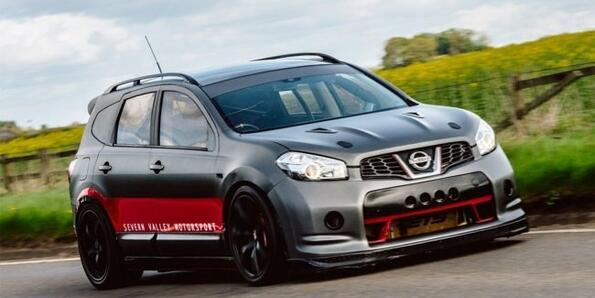 Най-бързият кросоувър в света е Nissan Qashqai-R!