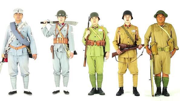 Трансформацията на китайската военна униформа за 100 години