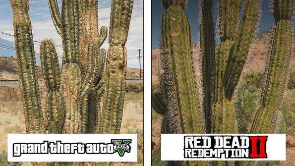 Red Dead Redemption 2 против GTA V: сравняваме графиките