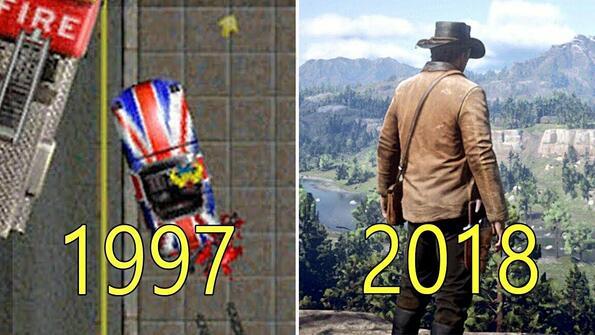 Как са еволюирали игрите на Rockstar: видео