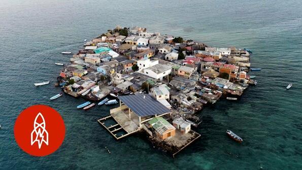 Най-гъстонаселения остров на планетата